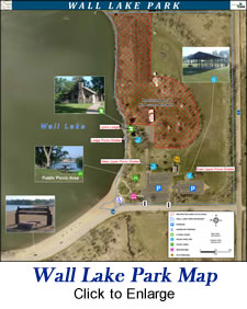 Wall Lake Park Map